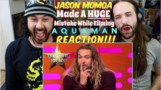 JASON MOMOA Made A HUGE MISTAKE While Filming AQUAMAN | The Graham Norton Show - REACTION!!!