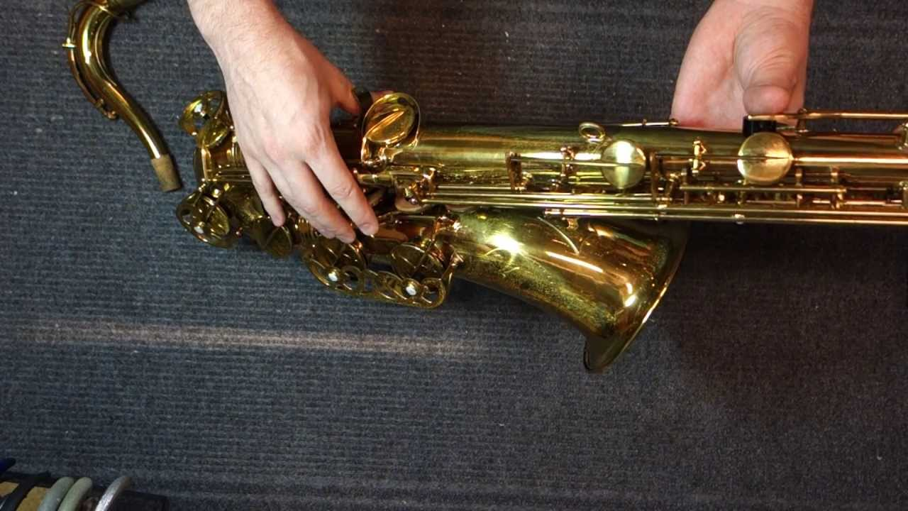 repairman s overview buffet super dynaction tenor saxophone youtube rh youtube com