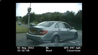 U.K police chase a merc around bolton.
