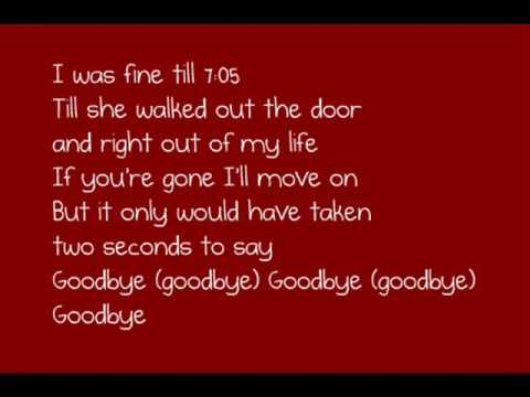 7:05 ~ Jonas Brothers with lyrics =) {from It's About Time}
