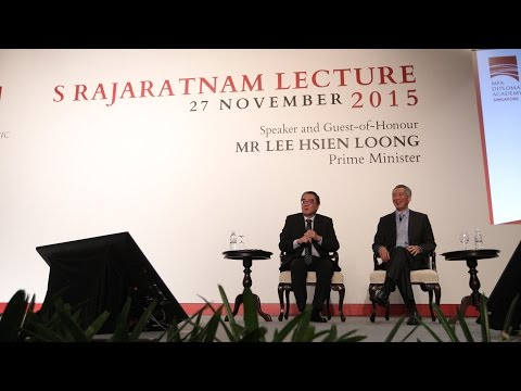 8. PM Lee: Join the Foreign Service! (S Rajaratnam Lecture 2015)