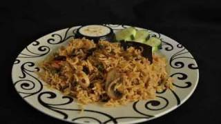 Mushroom Pulao Recipe Video