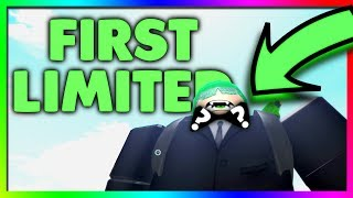 The First ROBLOX Limited Item...
