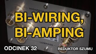 Biwiring, biamping  odc.32 [Reduktor Szumu]