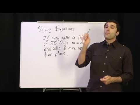 Видео How to solve this algebra problem