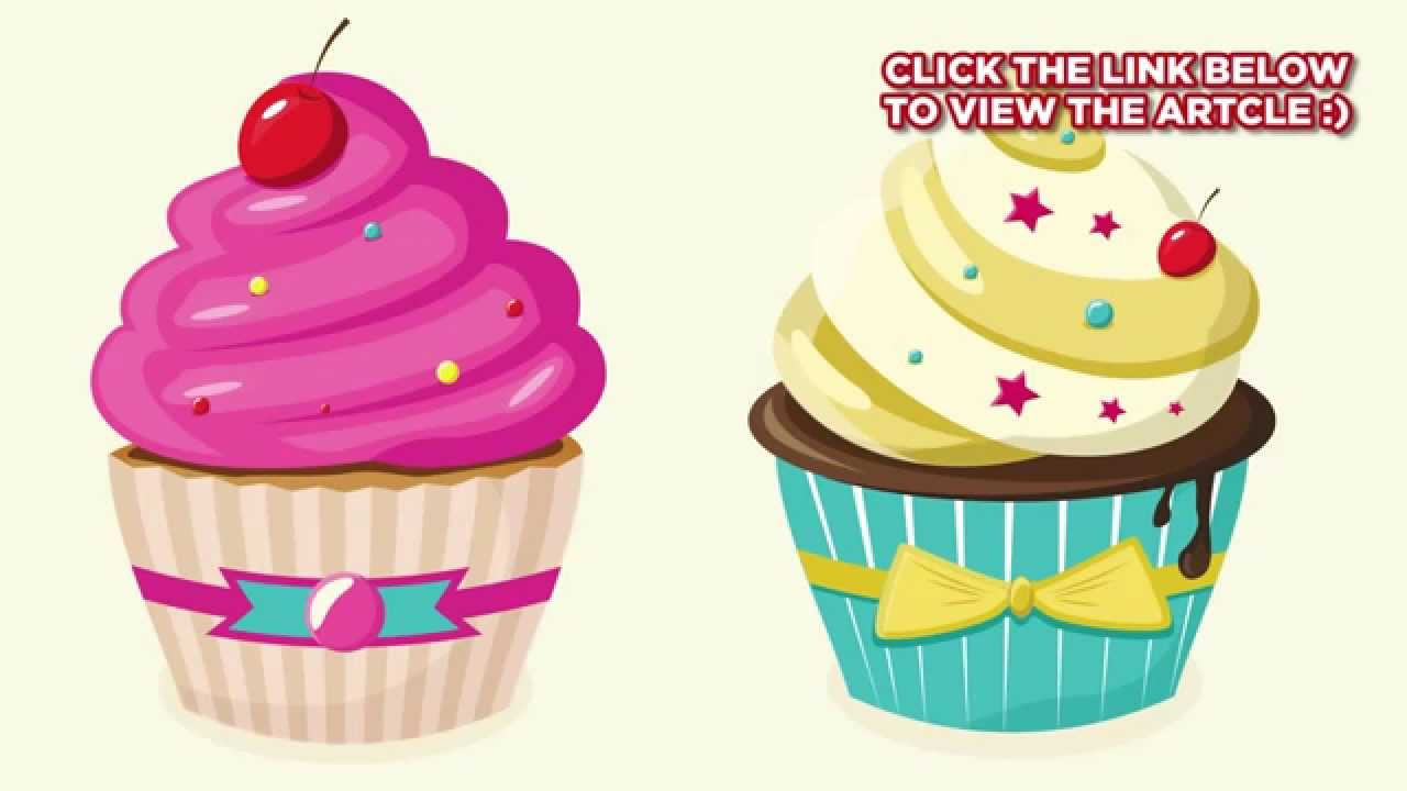 How to create a detailed cake illustration – over millions vectors.