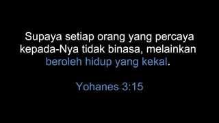 Bukti Yesus adalah Tuhan