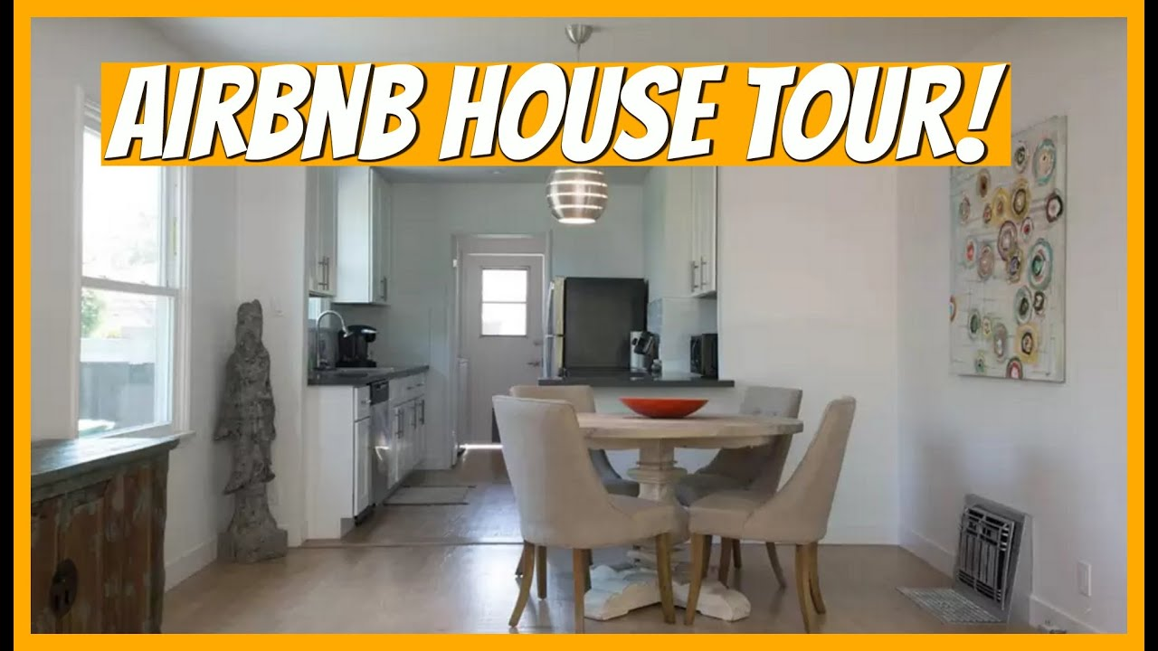 Los Angeles Airbnb House Tour Youtube