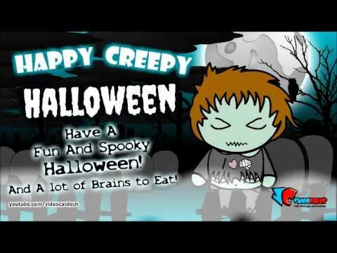 Happy halloween card zombie halloween message and greeting youtube happy halloween card zombie halloween message and greeting m4hsunfo