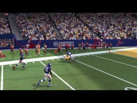 Madden NFL 17 Darian Stewart Amzing Defensive Stop!