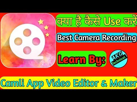 Camli - Video Editor With Music //Akg Technical