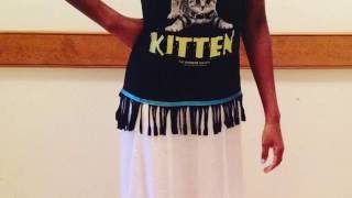 Video How To Make Fringes on A Shirt | With Border of Blue download MP3, 3GP, MP4, WEBM, AVI, FLV Agustus 2017