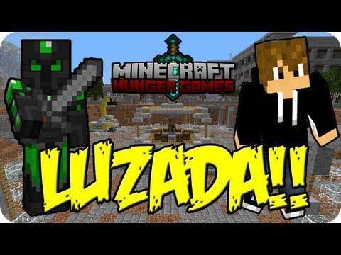 LUZADA!! - Juegos del Hambre c/ Luzu - MINECRAFT - sTaXxCraft