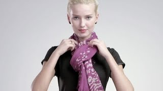 How to Tie a Scarf: 4 Scarves 16 Ways