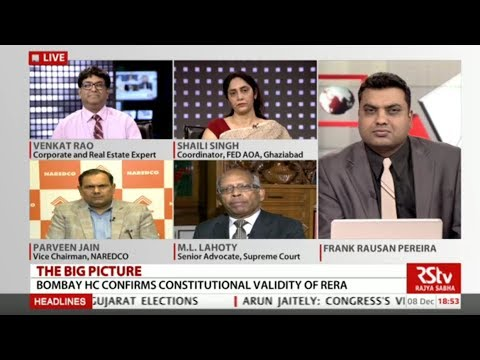 The Big Picture - Bombay HC confirms Constitutional validity of RERA