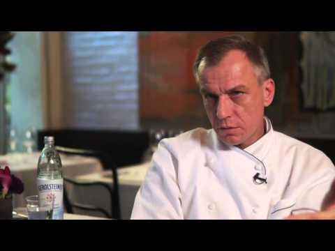 Gerolsteiner Water     Chef Kurt Gutenbrunner