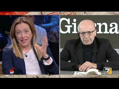 Alessandro Sallusti a Giorgia Meloni: 'Complimenti per il risultato', 'Grazie Direttò!'