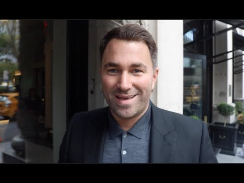 EDDIE HEARN ON ANTHONY JOSHUA v DEONTAY WILDER, SHELLY FINKEL NEGOTIATIONS, DI BELLA, JACOBS, MILLER