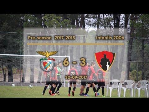 Pré-época  2017/2018  Sport Lisboa e Nelas 6 - 3 Guarda Unida
