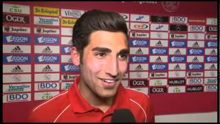 Reactie Alireza Jahanbakhsh na afloop van Ajax - N.E.C.