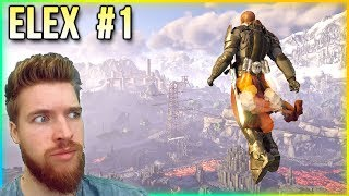 ELEX Gameplay Walkthrough - Part 1 ... THE MAP IS HUGE!