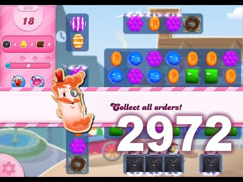 Candy Crush Saga Level 2972 (No boosters)