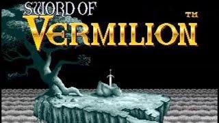 Sword of Vermilion fast walkthrough
