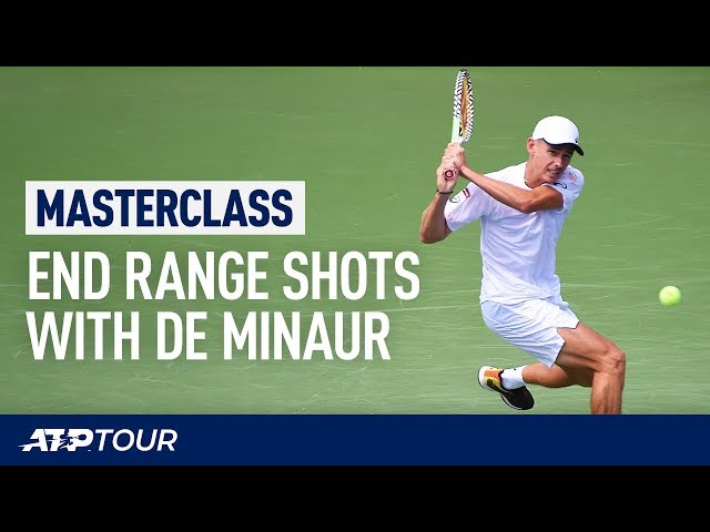 Defend Like De Minaur | MASTERCLASS | ATP