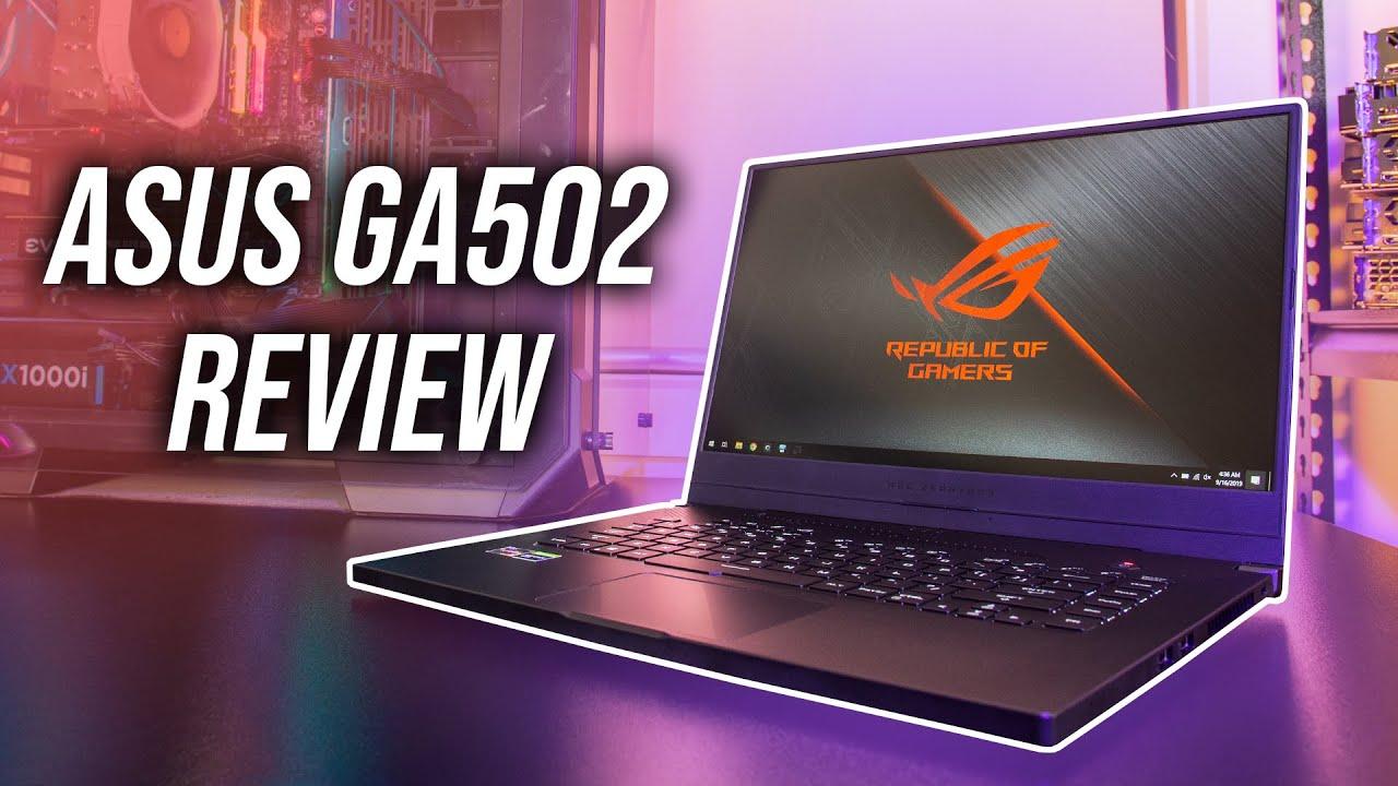 Asus Zephyrus G Ga502du Gaming Laptop Review Youtube