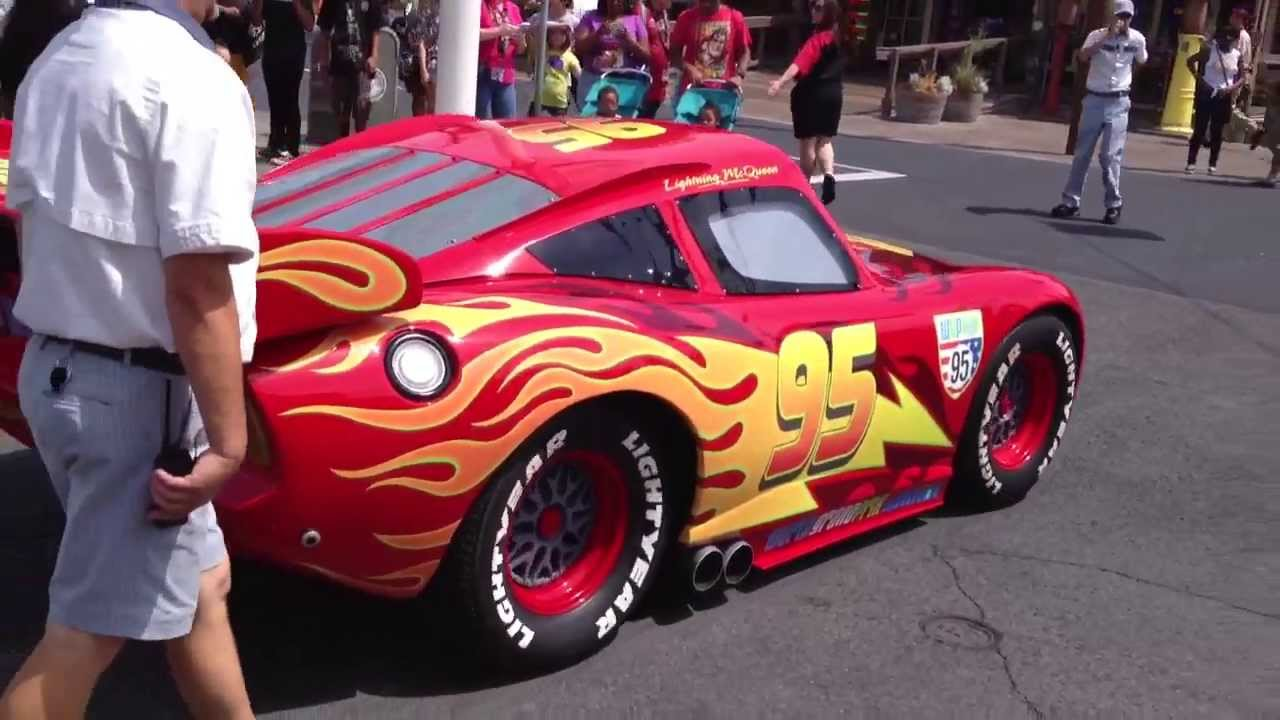 Lightning Mcqueen Disney S Car 95 Youtube