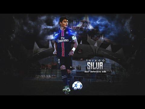 Thiago Silva - Defensive Skills & Tackles || PSG || 2016 ᴴᴰ