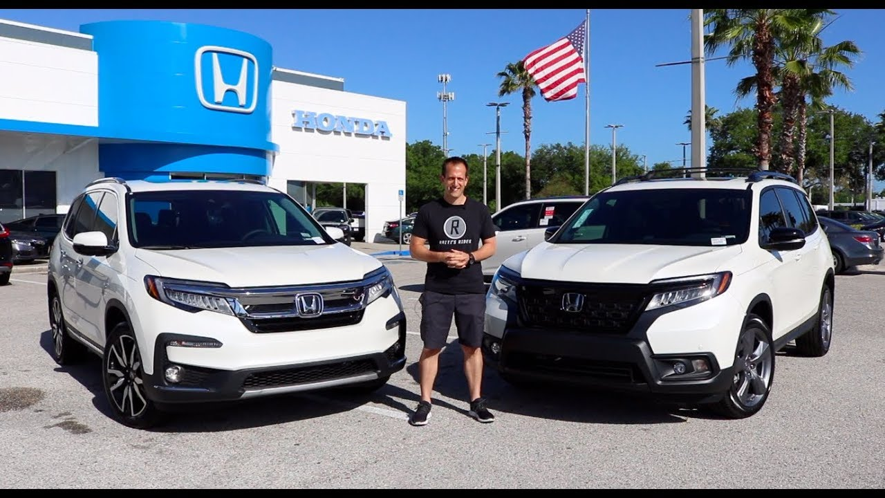 which suv is the better buy  2019 honda passport or pilot