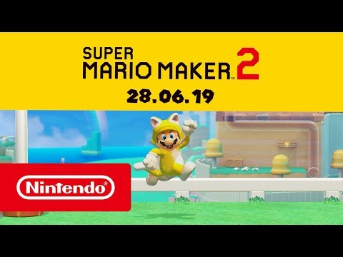 Super Mario Maker 2 makes its way to Nintendo Switch in June with a limited edition stylus