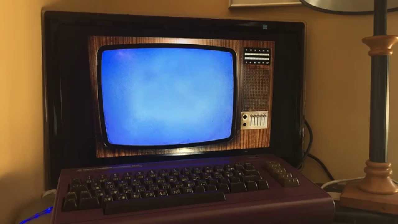 Raspberry Pi Commodore 64 mod - RetroPie boot and PSX Game