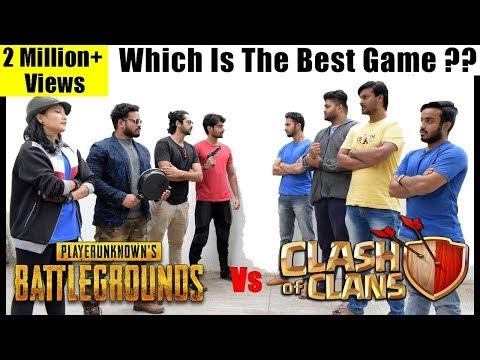 Clash Of Clans Vs Pubg - Fans Forever | Dekhte Rahoo