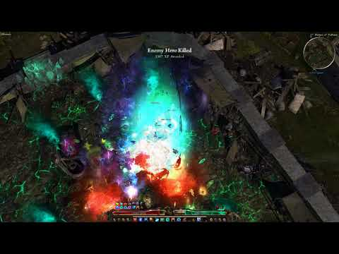 Grim Dawn - Ashes of Malmouth : Thu-King Uber Port Run (x12 monster spawn rate)