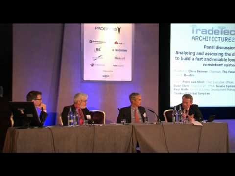 Trading Technology: In House Vs. Off-The-Shelf? A Panel Debate