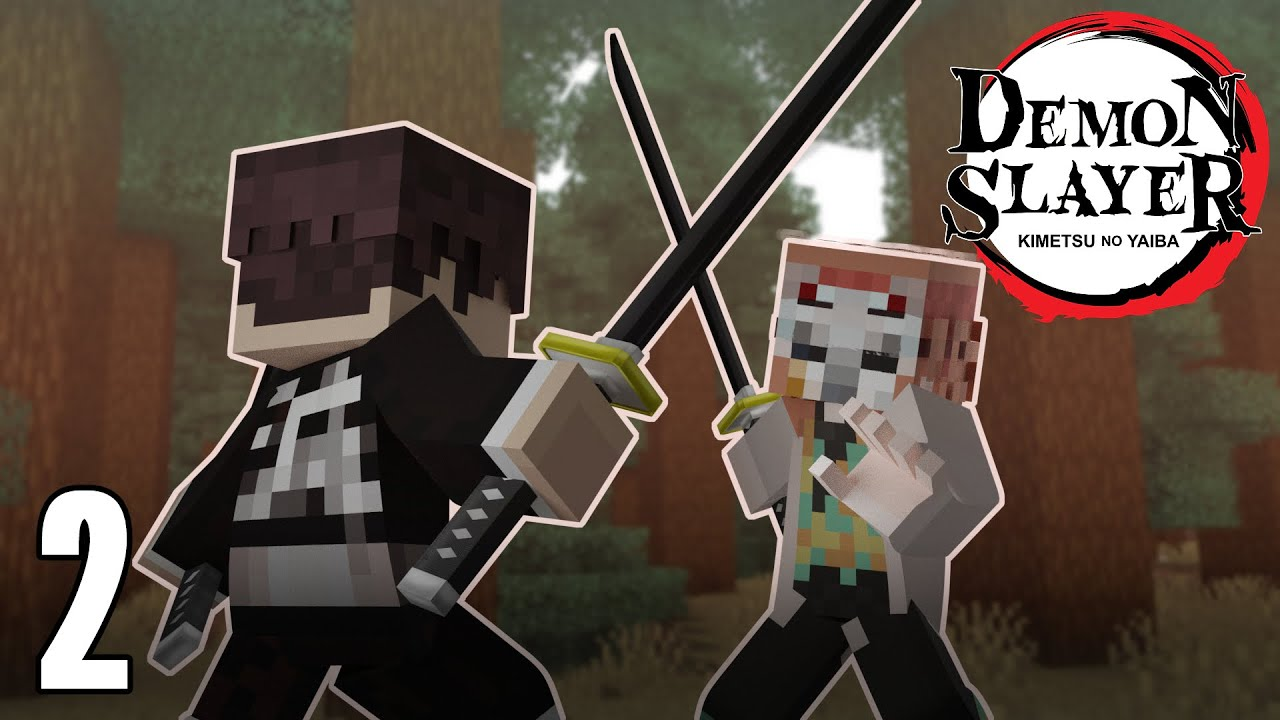 • completing the captcha proves you are a human and gives you temporary. Becoming A Demon Slayer In Minecraft Demon Slayer Minecraft Mod 1 Youtube