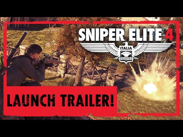 Rebellion Developments reveló el tráiler del videojuego Sniper Elite 4