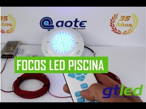 Como Instalar Focos Led De Piscina Guia Rapida En 3 Minutos Gtled Iluminacion Led Youtube
