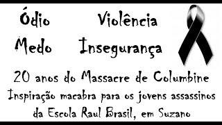 Programa Diferente nº 193 - Especial - Massacres de Suzano e Columbine (24/3/2019)