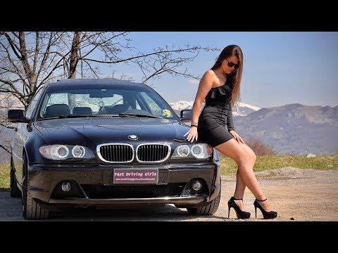 Fast Driving Girls - Debbi BMW 320 E46 In High Heels On Mountain Roads (V084)