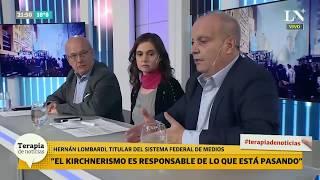 Despidos en Télam: Opinó Hernán Lombardi - Terapia de Noticias