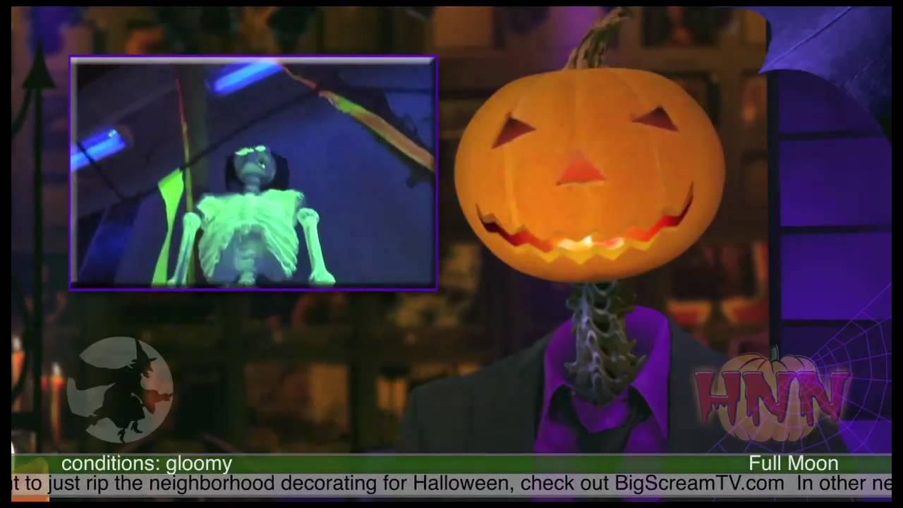 glowing halloween decorations using black light - youtube