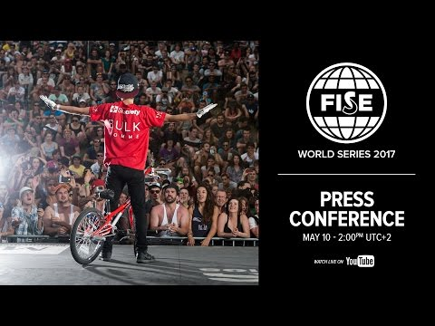 FISE WORLD SERIES 2017 - PRESS CONFERENCE