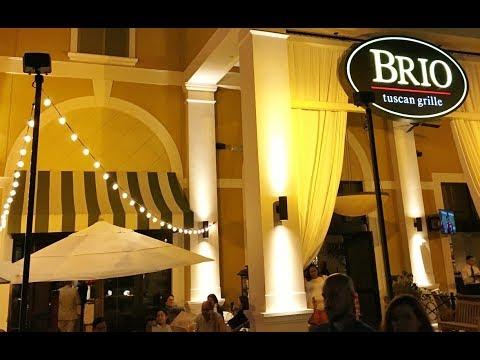 5* Review BRIO Tuscan Grille - Restaurant Menu 2019