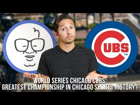World Champions Chicago Cubs the biggest in Chicago Sports History?