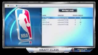 NBA 2K14 Next Gen BEST Draft Class Roster