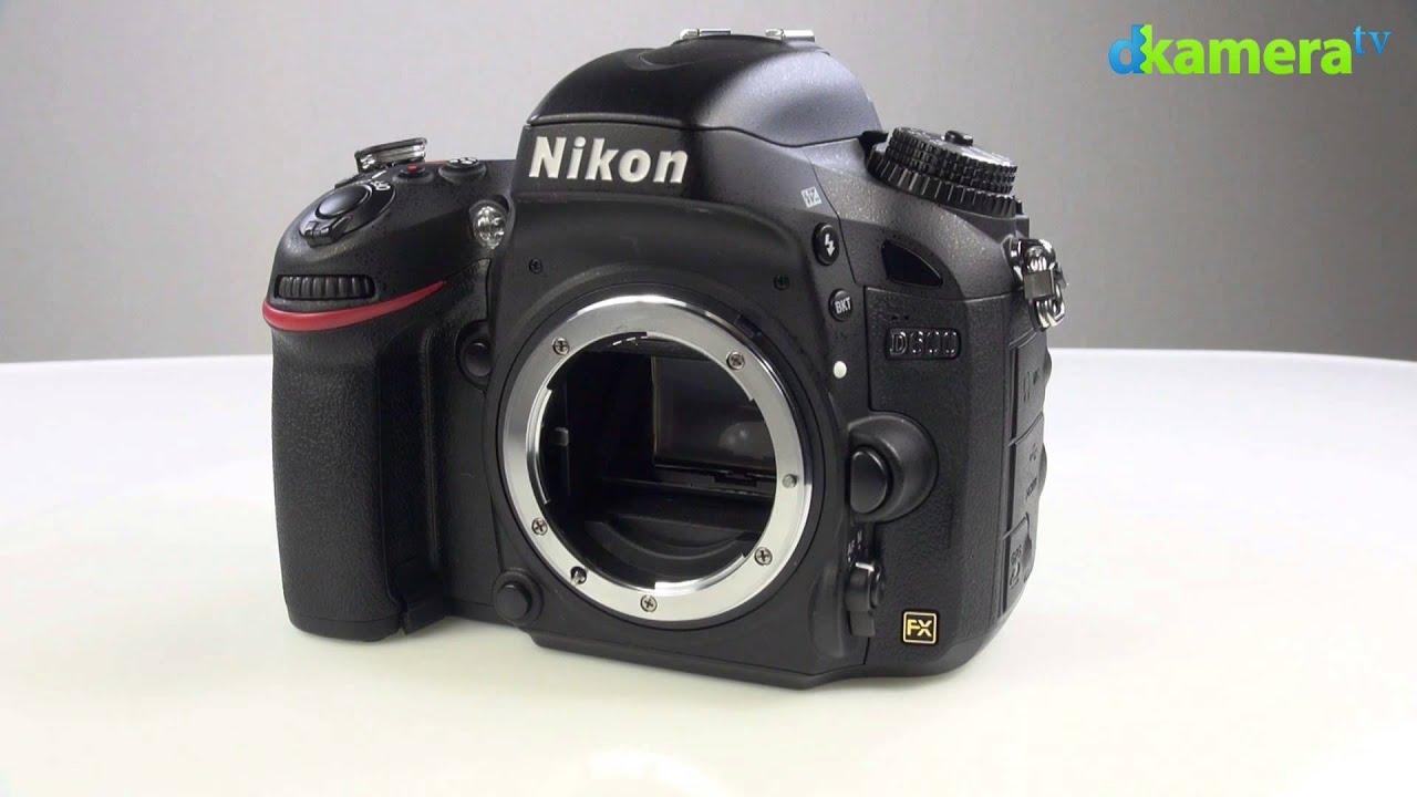 how to make a video with nikon d600