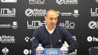 Rueda de prensa de Pedro Fernández Cuesta (07/02/2016)